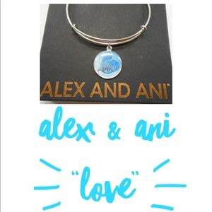 Alex & Ani love bangle